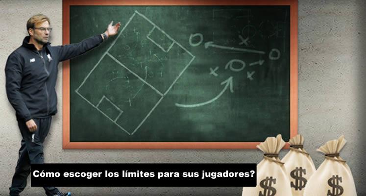 límites para sus jugadores